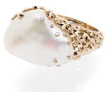 18kt 'Moonstone' Ring