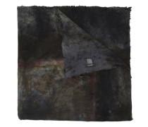 Bedruckter Schal in Distressed-Optik