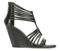 'Mignon' Sandalen mit Keilabsatz - women