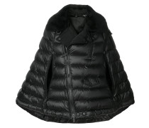 quilted cape jacket