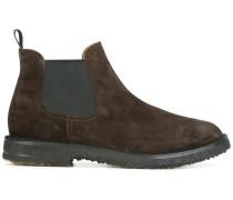 Chelsea-Boots mit Kontrasteinsätzen