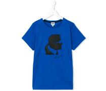 T-Shirt mit Karl-Lagerfeld-Print