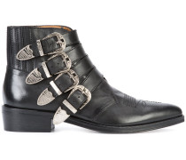 - Stiefeletten mit Schnürung - men - Leder/Metall