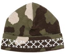 Camouflage-Mütze mit Logos