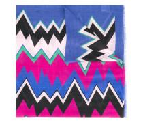 zig zap print scarf