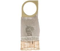 'Op'Art' Mini-Tasche aus Kettengeflecht