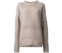 loose fit knitted jumper