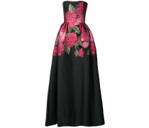 floral bouquet ball gown