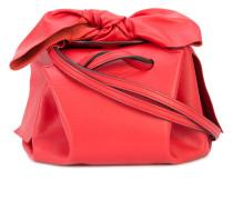 bow detail drawstring crossbody bag