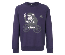 monkey print sweatshirt