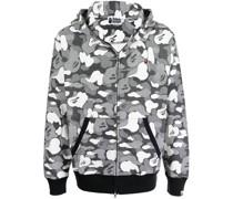 A BATHING APE® Jacke mit Camouflage-Print