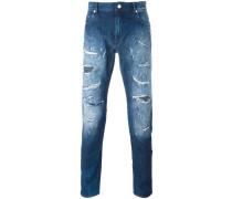 - Jeans in Distressed-Optik - men