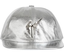 Baseballkappe im Metallic-Look