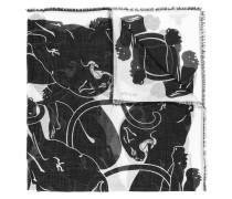 ' Garavani' Schal mit Print
