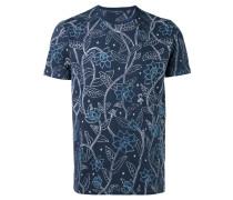 - T-Shirt mit floralem Print - men - Baumwolle - S