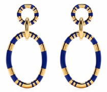 Positiano Creolen mit zwei Ringen