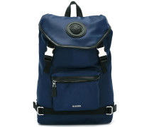 strap fastening backpack