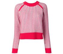 Pullover mit Kontrastdetail