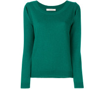 Kaschmirpullover mit Cut-Outs