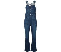 Jeans-Latzhose mit gekürzter Länge