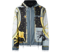 'Astrological' Windbreaker mit Print