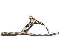 'Miller' Sandalen mit Leoparden-Print
