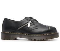 Oxford-Schuhe mit Reißverschluss
