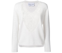 lace knit jumper