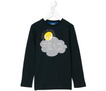 Langarmshirt mit Sonnen-Print