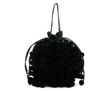 Charlotte Handtasche mit Pompons