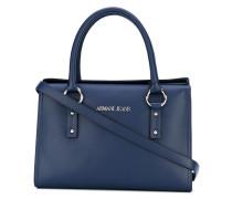 - Handtasche mit Logo-Schild - women