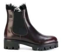 Chelsea-Boots mit dicker Profilsohle