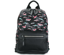 Evolutive Cranes print backpack
