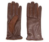 Handschuhe mit Logo-Schild