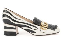 'GG Vamp' Loafers mit Fransen
