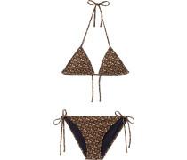 'Monogram' Triangel-Bikini