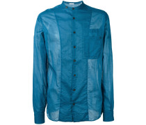 Hemd mit Stehkragen - men - Baumwolle - M