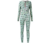 printed jumpsuit - women - Polyamid/Elastan - P