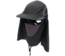 cap with head and face covering