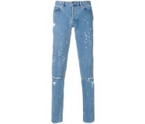 Jeans mit Logo