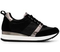 Justified Sneakers im Metallic-Look