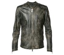 Jacke mit Reißverschluss - men - Leder/Nylon