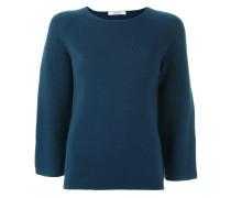 Kaschmir-Pullover mit gekürzten Ärmeln