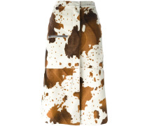 Rock mit Kuh-Print - women