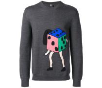 Pullover mit Würfelmotiv