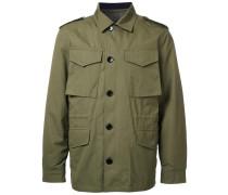 Military-Jacke mit abnehmbarem Futter