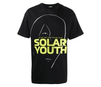 "T-Shirt mit ""Solar Youth""-Print"