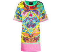 T-Shirtkleid mit Paisley-Print