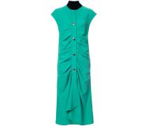 Gerafftes Kleid - women - Polyester/Acetat - 38