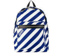 Hyper striped backpack